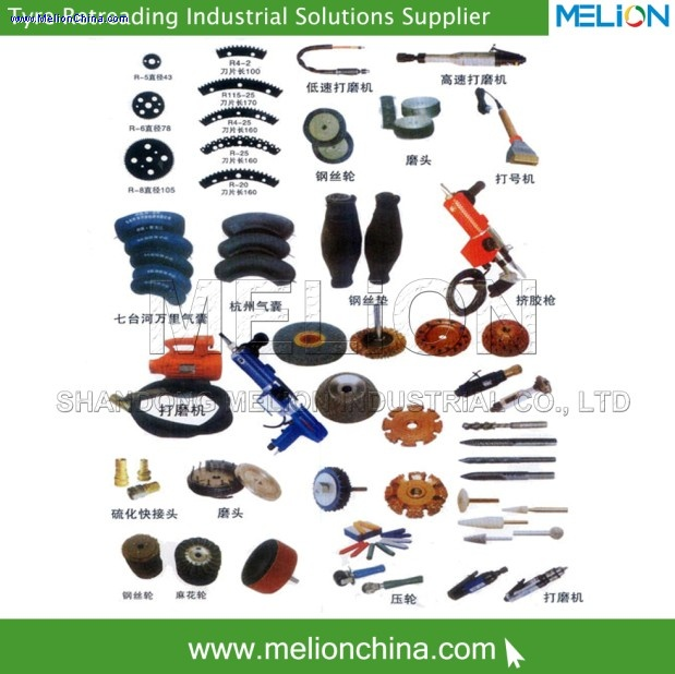 Tyre retreading machine inspection sprea tyre retreading equipment