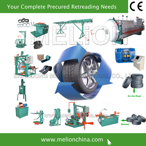Complete Tyre Retreading Equipment